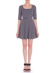 Marcia Fit and Flare Dress