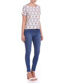 Festival Bunting T-shirt Top