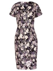 Grace Floral Stretch Cotton Dress