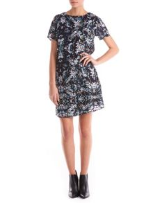 Sugarhill Boutique Abigail Blurred Spot Tunic Dress