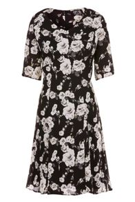 Poppy Lux Theresa Rose Tea Dress