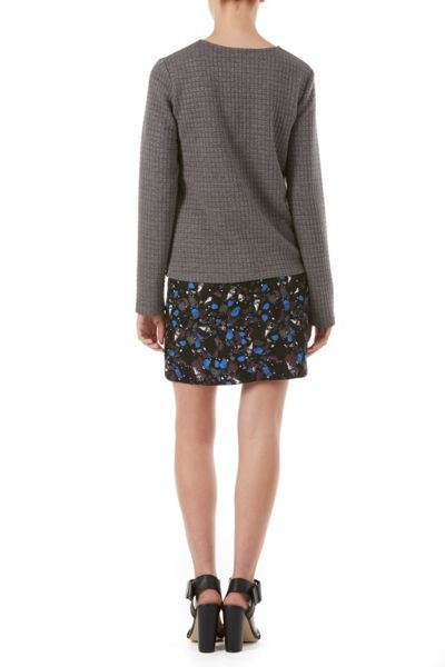 Poppy Lux Sigouney Quilted Jersey Top