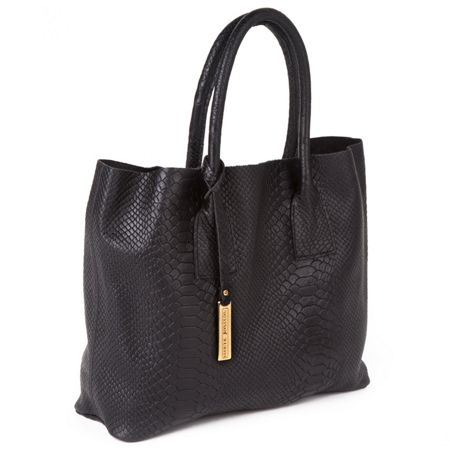 Marta Jonsson Snake leather grab bag