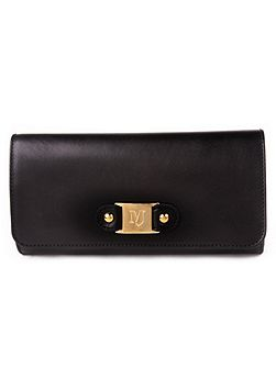 Clutch bag with mj detail