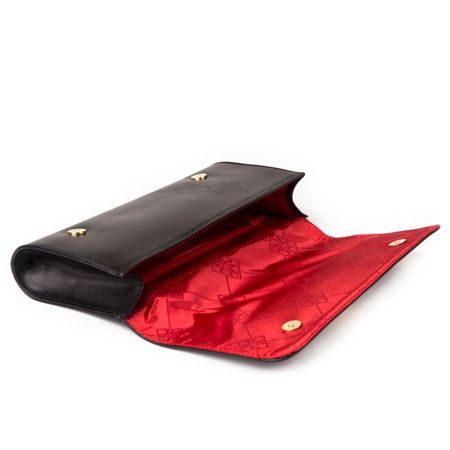 Marta Jonsson Clutch bag with mj detail