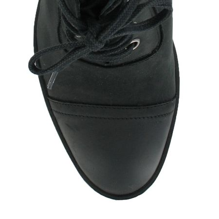 Marta Jonsson Nubuck ankle boot with laces