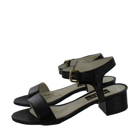 Marta Jonsson Women`s Low Heel Sandal with Buckle