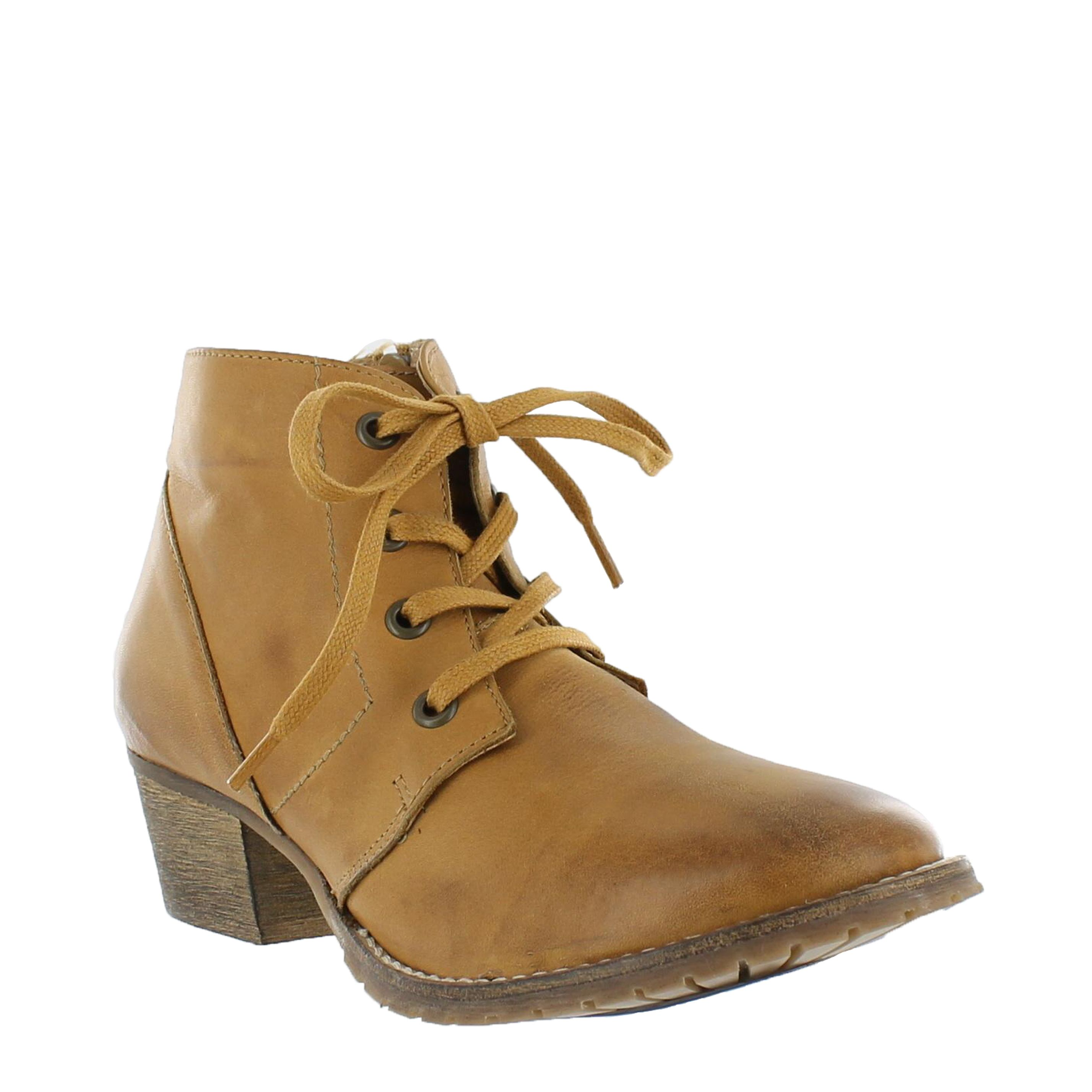 Marta Jonsson Leather lace up ankle boots Tan