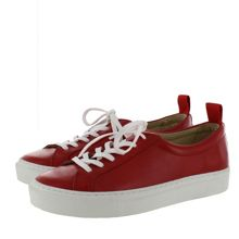 Marta Jonsson Women`s leather lace up trainers
