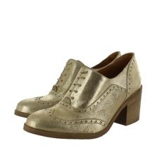 Marta Jonsson Women`s block heeled brogue