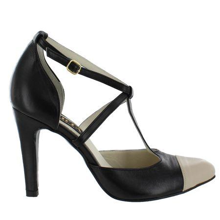 Marta Jonsson Women`s T Bar Court Shoe