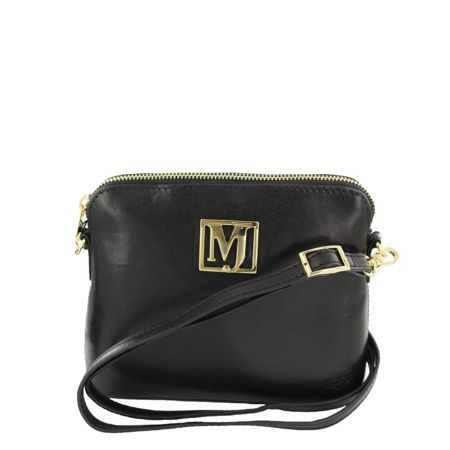 Marta Jonsson Across Body Bag With MJ Golden Detail
