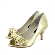 Marta Jonsson Women`s peep toe court shoe