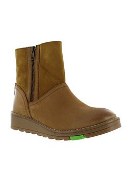 Northern light zip ankle boot