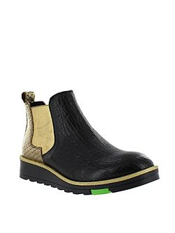 Northern light slip on ankle boot