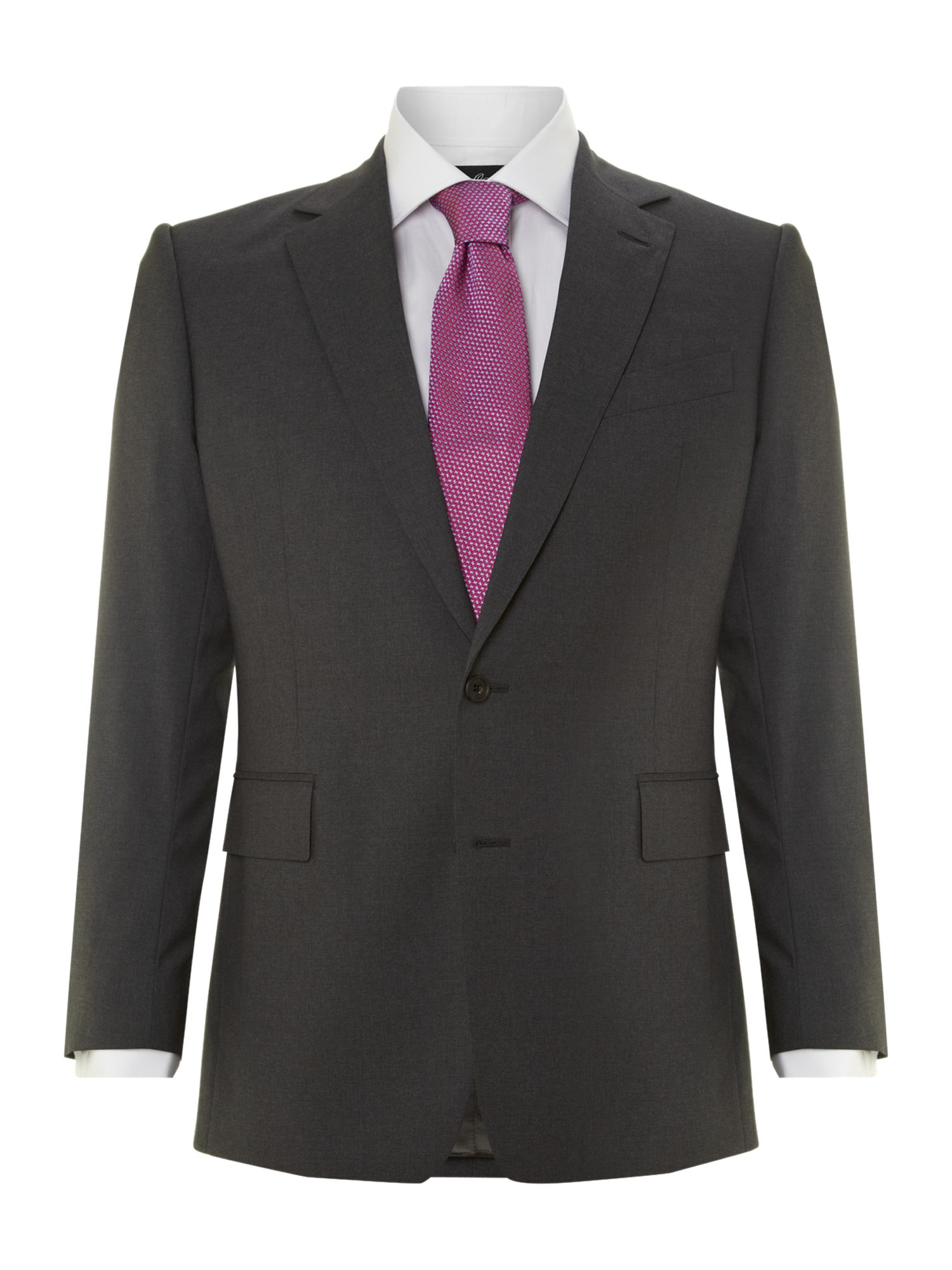 Plain contemporary suit