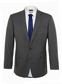 Plain Notch Collar Tailored Fit Suits