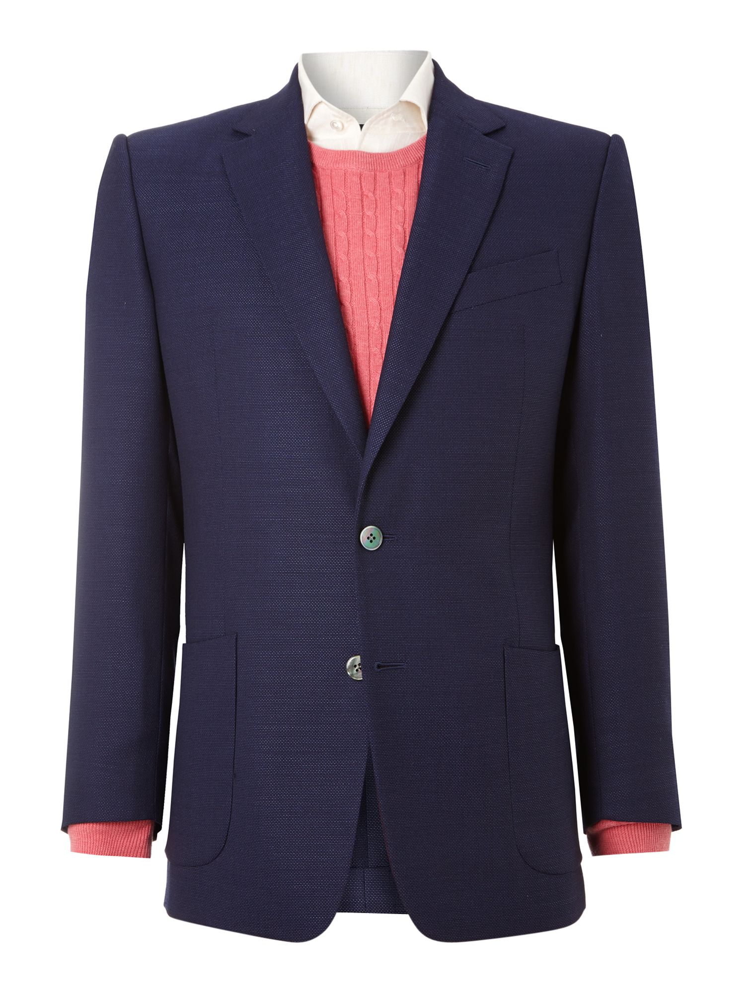 Chester barrie mesh wool contemporary jacket