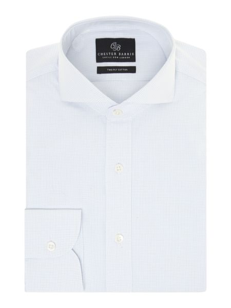 Chester Barrie Richard check long sleeve shirt
