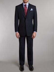 Burlington self-colour glen check suit