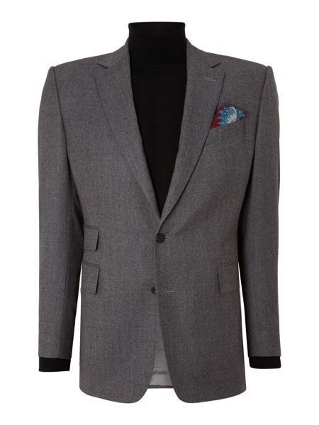 Chester Barrie Albemarle Plain Notch Collar Tailored Fit Suit