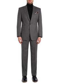 Albemarle Plain Notch Collar Tailored Fit Suit