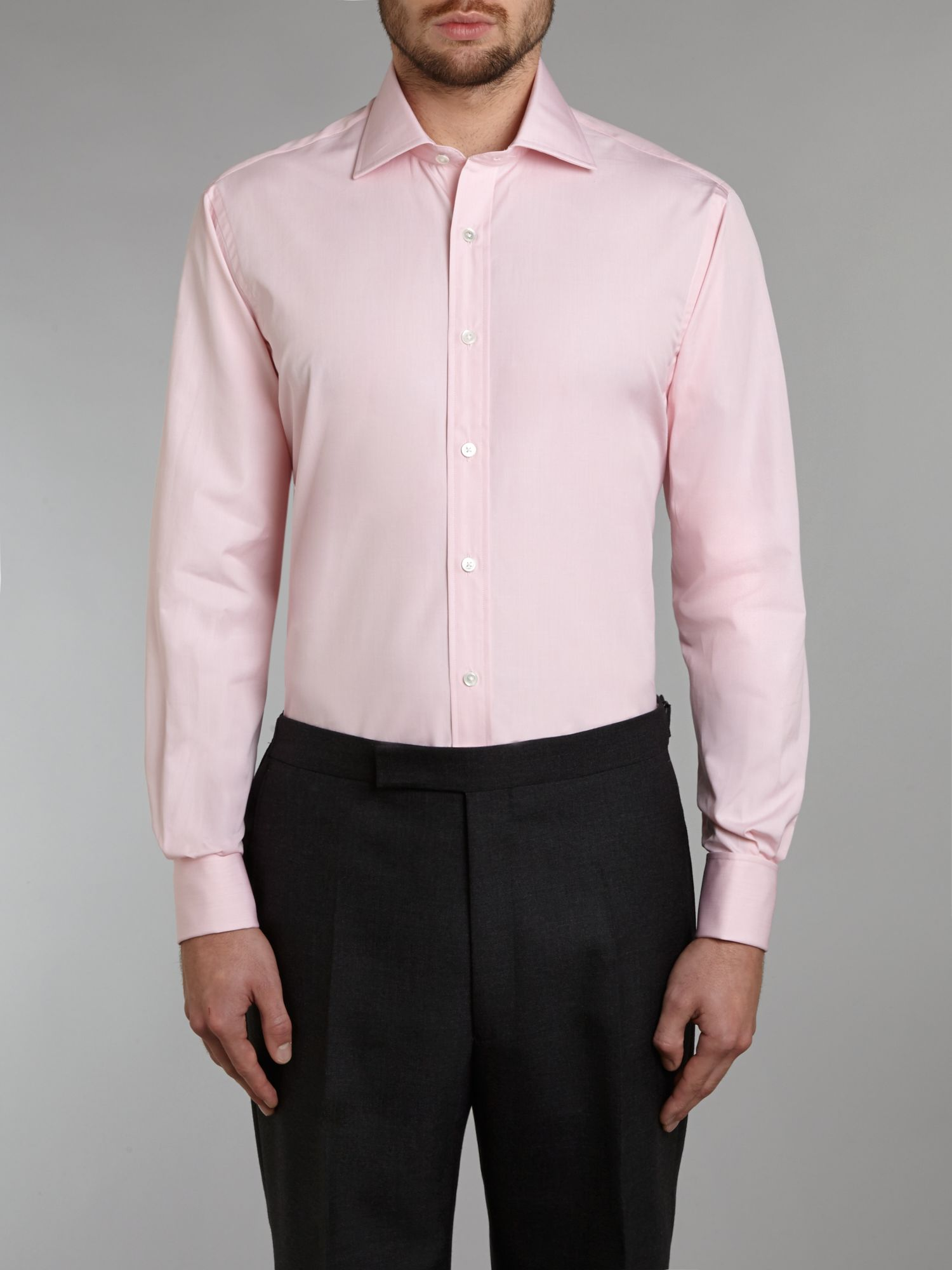 James cutaway collar shirt