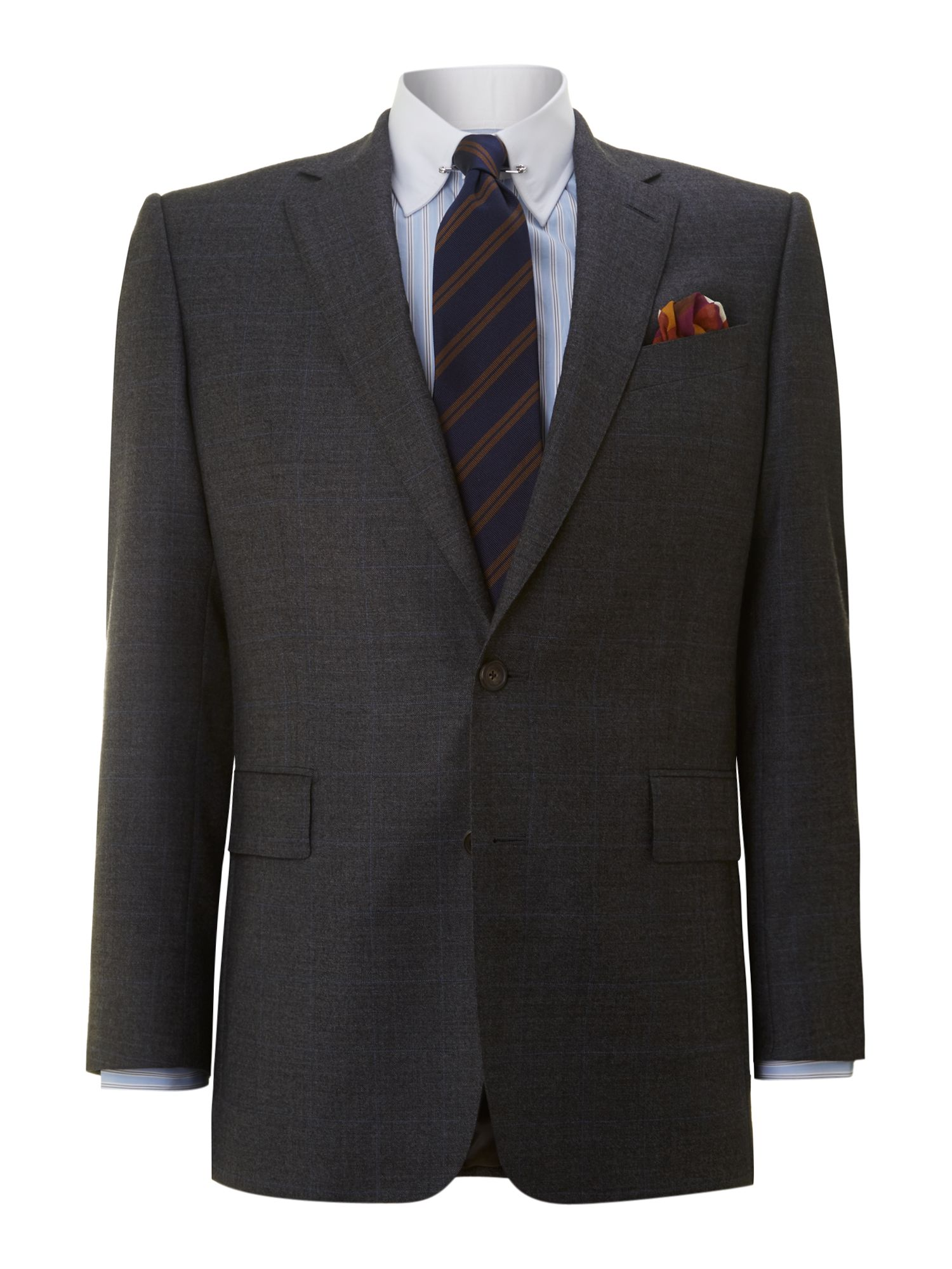 Albermarle glen check suit