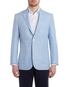 Chester Barrie Prince of wales check formal blazer