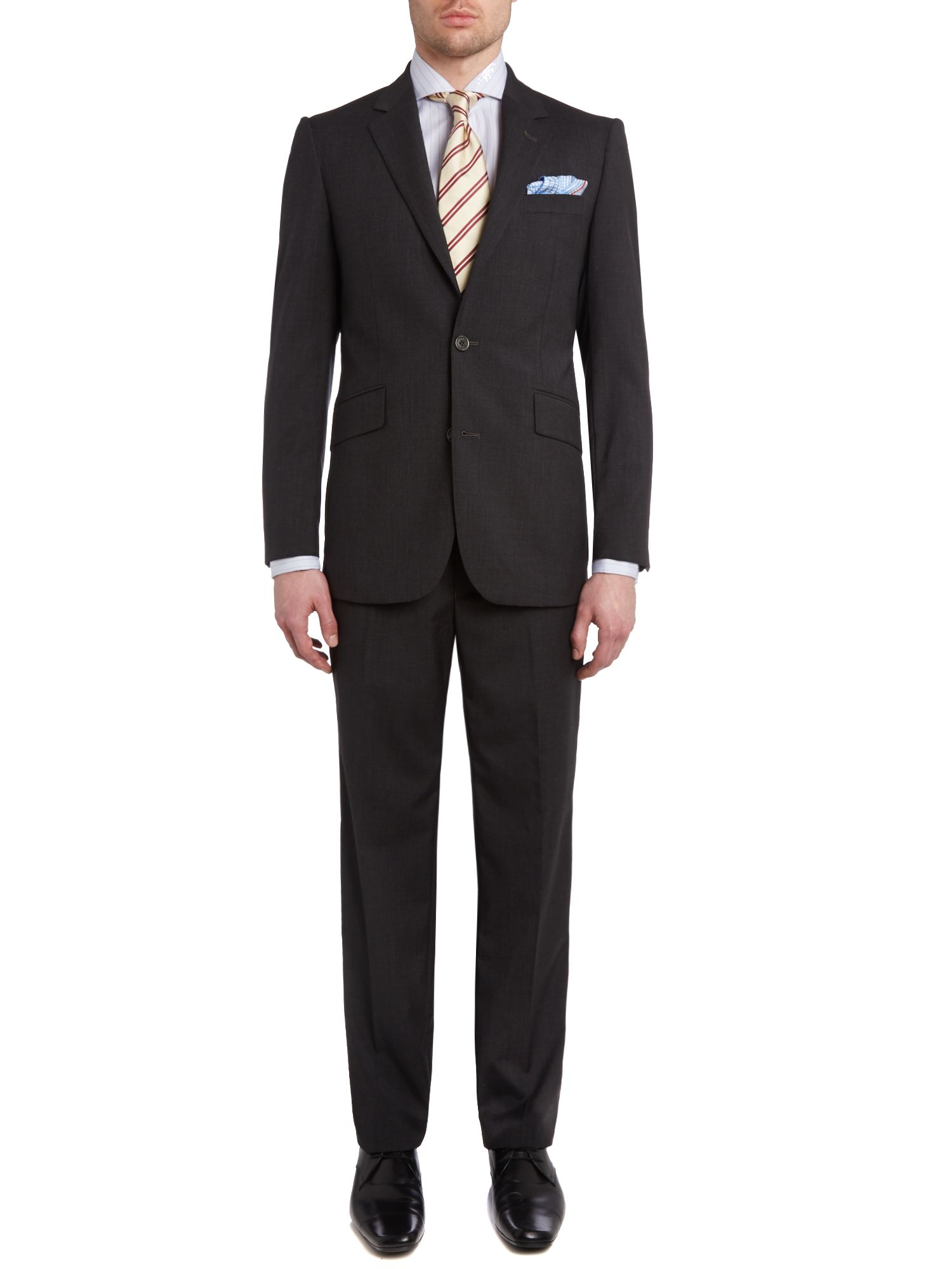 Kensington fit plainweave suit