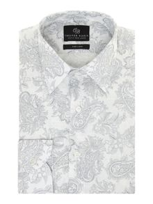 Chester Barrie Peter paisley long sleeve shirt