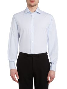 James classic fit striped shirt