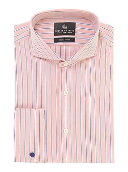 Richard classic fit striped shirt