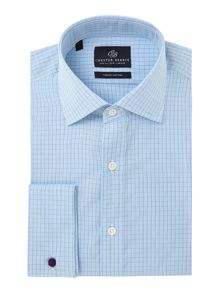 Chester Barrie James classic fit check shirt