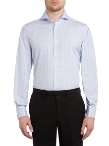 Chester Barrie Richard classic fit checked shirt
