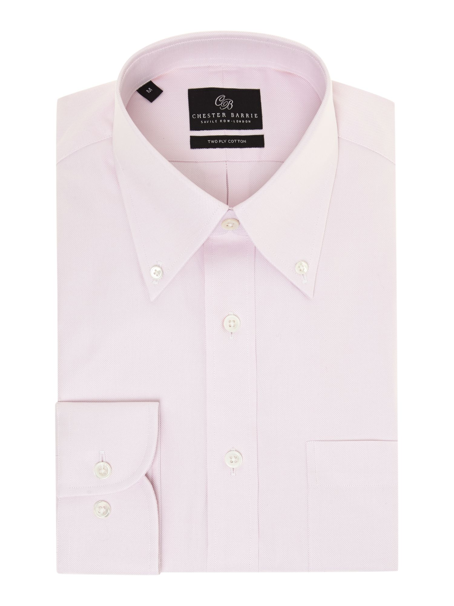 Classic button down collar shirt