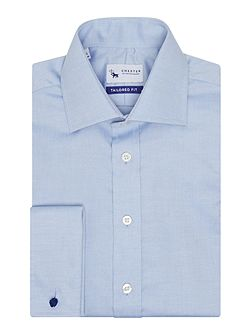 Oxford weave long sleeve shirt