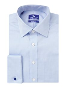 Chester Barrie Oxford weave long sleeve shirt