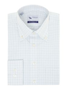 Graph check button down shirt