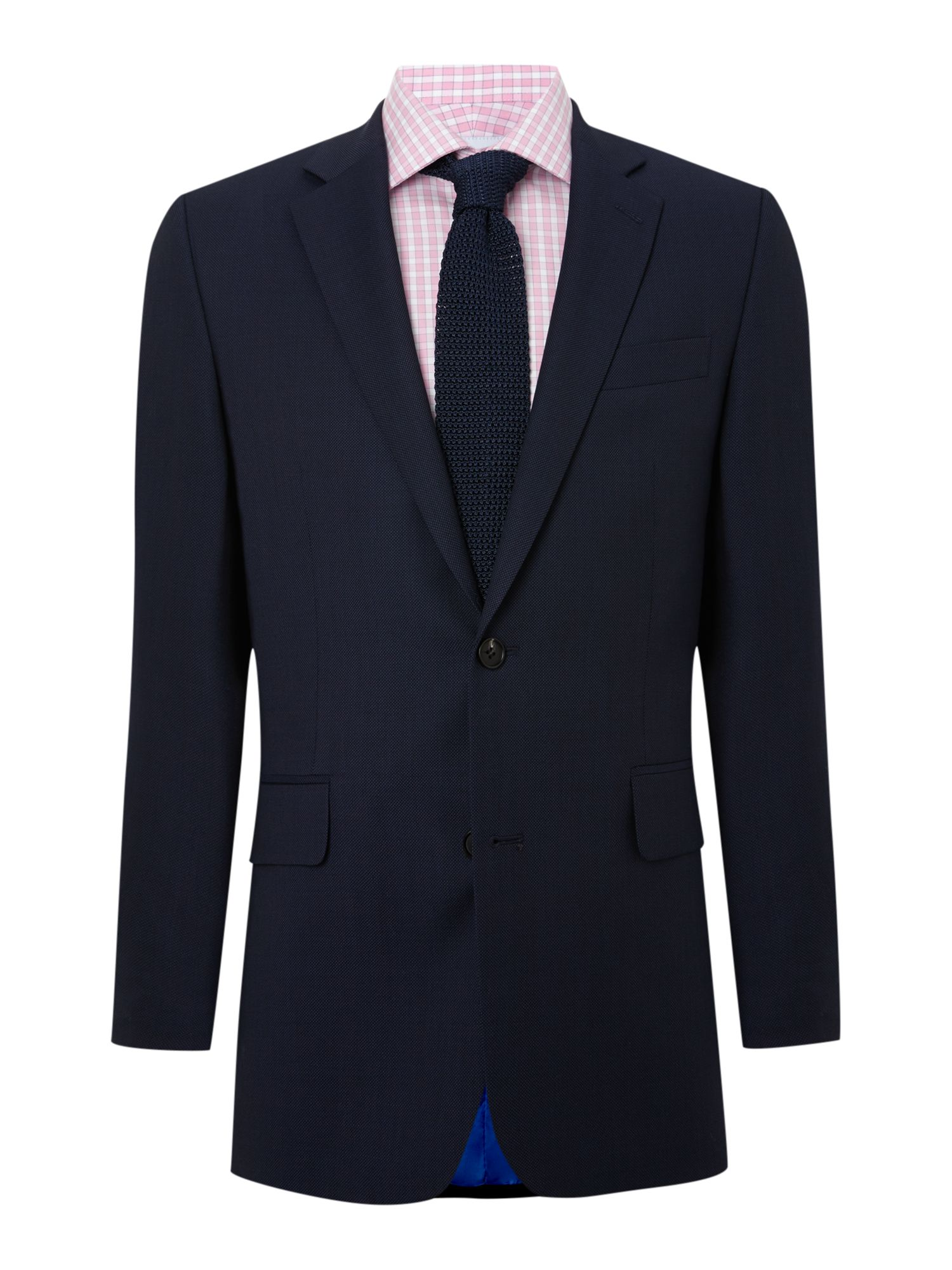 Birdseye single breasted suit