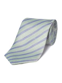 Chester Barrie Blended woven stripe tie