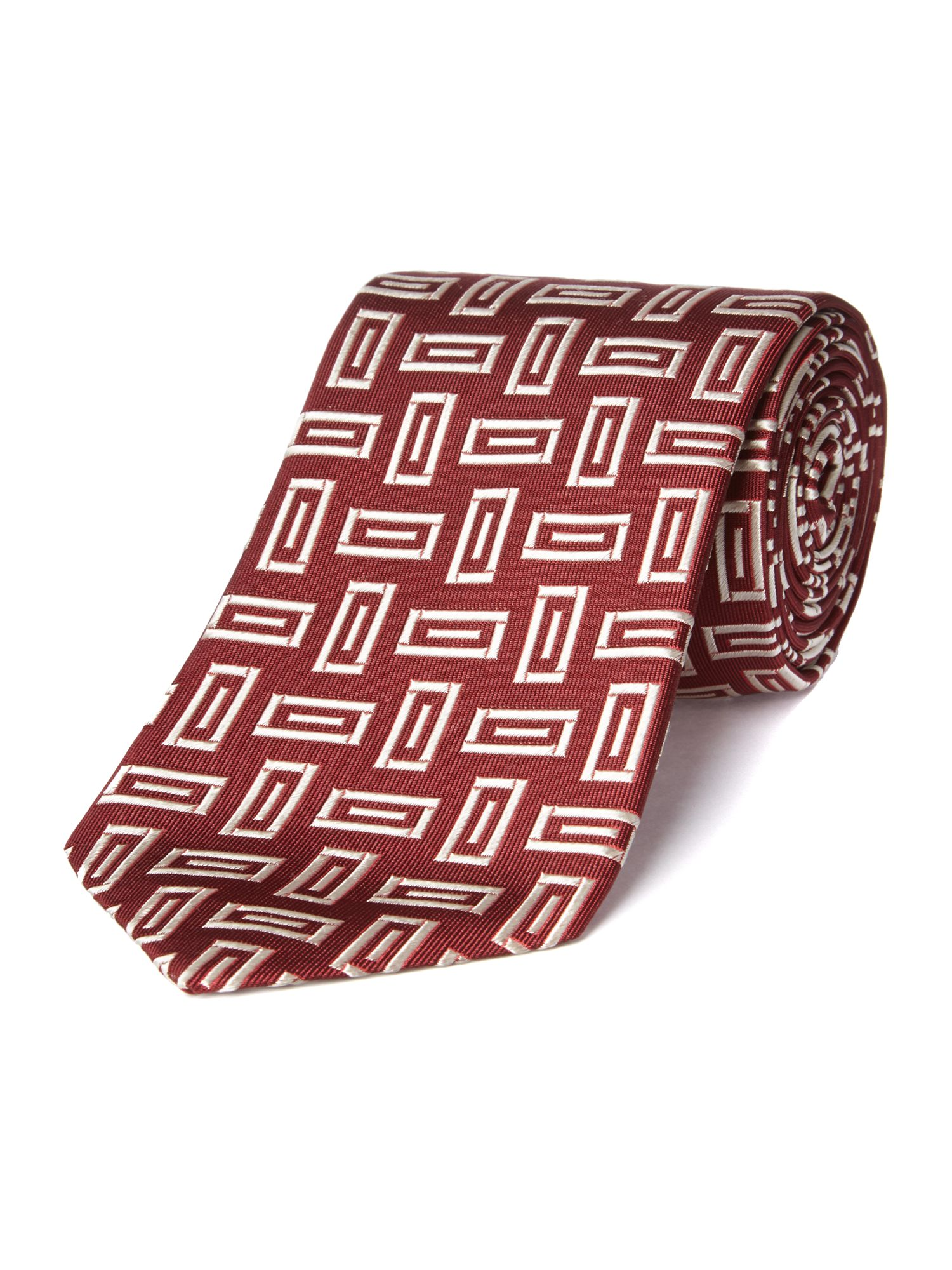 Chester Barrie Woven brick tie $39.00 AT vintagedancer.com