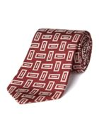 Chester Barrie Woven brick tie