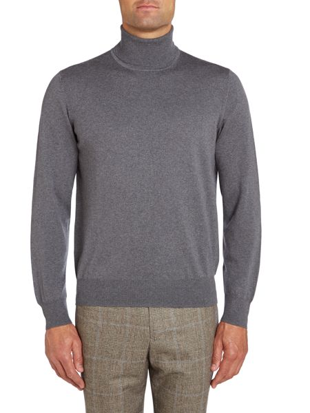 Chester Barrie Merino Roll Neck