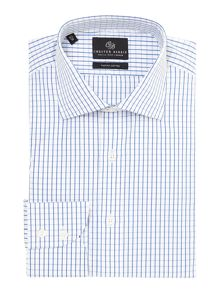 Chester Barrie James window check shirt