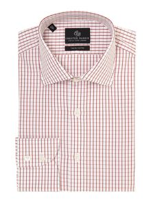 James window check shirt