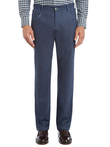 Chester Barrie 5 Pocket Tailored Wool Jeans