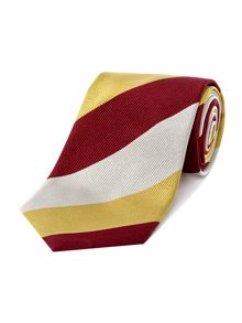 Chester Barrie University striped reppe tie