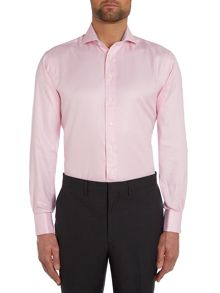 Check Tailored Fit Cutaway Collar Formal Shirt