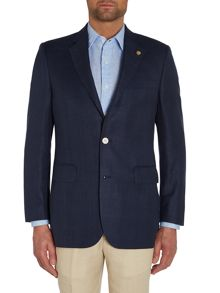 Chester Barrie Tailored Fit Blazer - Wool/Linen/Silk